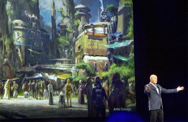 """Atracciones de """"Star Wars"""" en Disneylandia abrirán en 2019"""