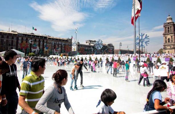 Cerca de 3 millones visitaron la pista de hielo