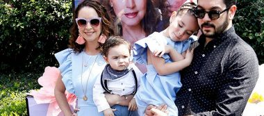 Andrea Torre festeja su primer año como mamá blogger