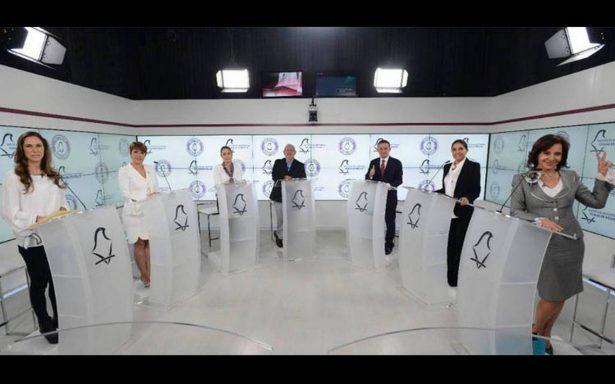 Candidatos privilegian guerra sucia en segundo #DebateChilango