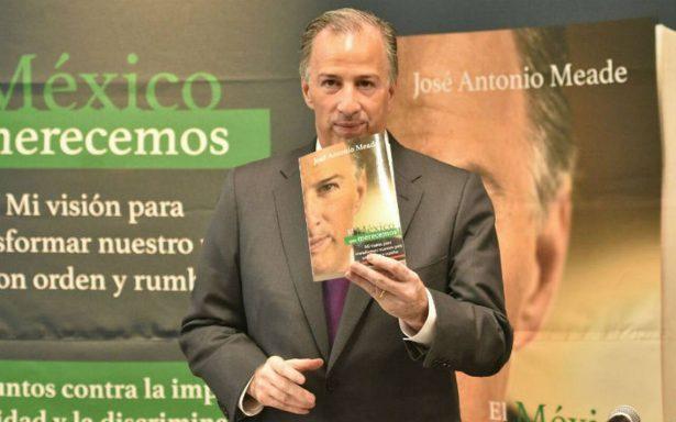 """Meade presenta su libro """"El México que merecemos"""""""