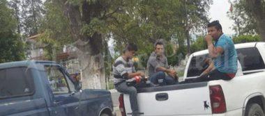 Pobladores exigen que ejército salga de Acajete