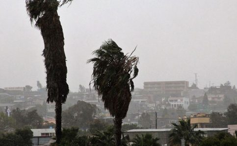 Alerta naranja en Ciudad Juárez por vientos y lluvias