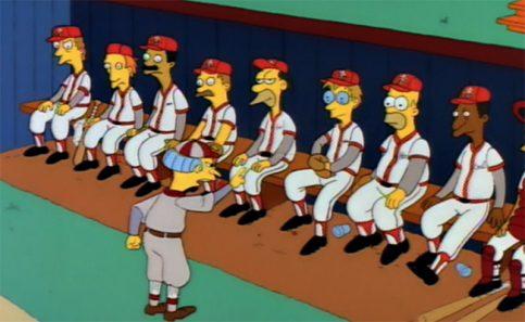 Salón de la Fama del beisbol homenajeará a Los Simpson