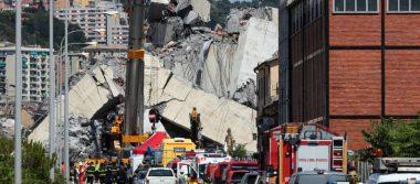 Se elevan a 39 los muertos tras el derrumbe de un puente en Génova