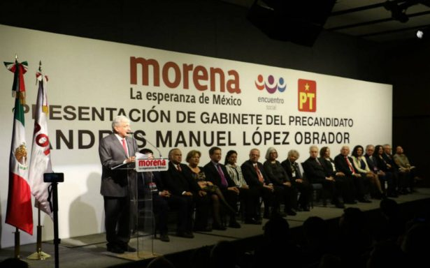 Conoce a quienes integrarán el gabinete de López Obrador