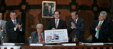 Lotería Nacional celebra 80 aniversario de la CTM con billete conmemorativo