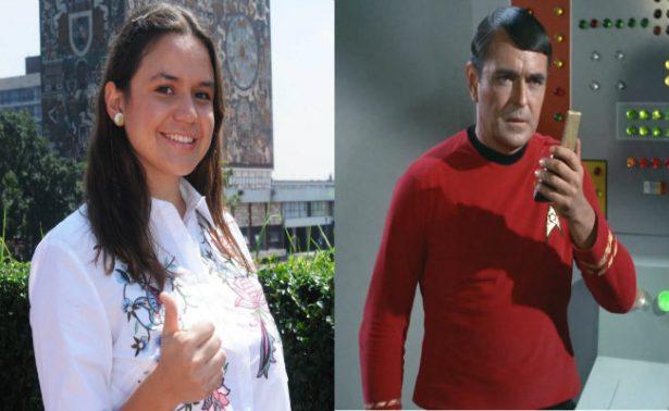 Gracias a Star Trek, alumna de la UNAM crea helicóptero que volará en Marte