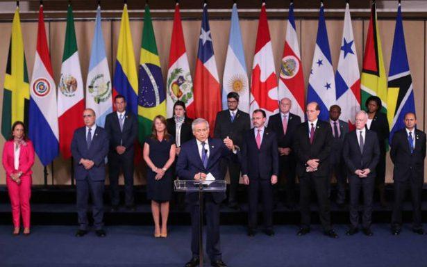 Grupo de Lima rechaza convocatoria a elecciones en Venezuela