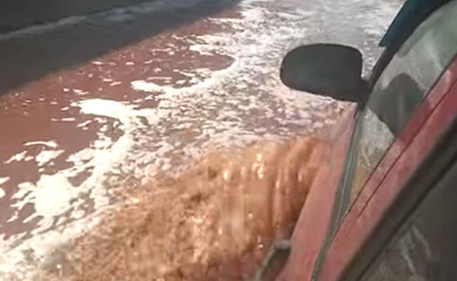 🍉 ¡Increíble! Ciudad rusa se inunda con jugo de frutas