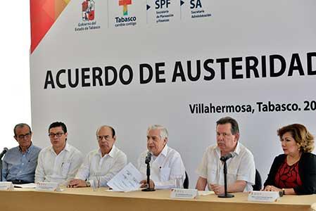 Presenta ANJ acuerdo de austeridad