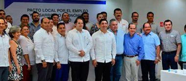 Pacto empresarial a favor del empleo