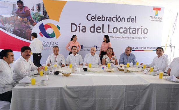 Anuncia Núñez programa especial de crédito al locatario