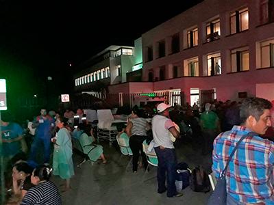 Reportan al momento 5 muertos por el fuerte sismo de México
