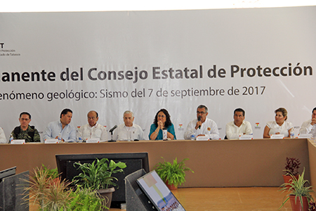 Cierra Tabasco Sesión Permanente de Emergencia