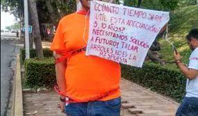 Protestan ecologistas contra obra