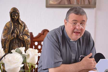 Se repliega Iglesia ante inseguridad