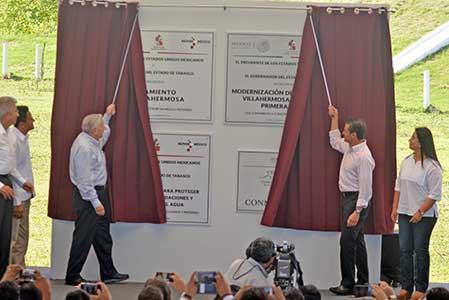 Impulso económico para Tabasco: EPN