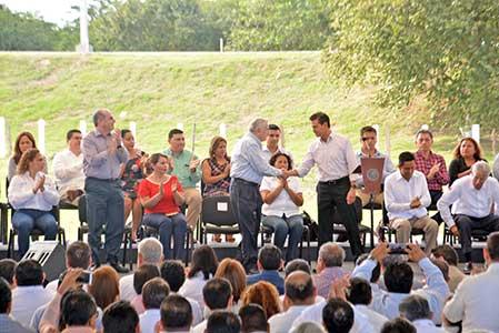 Compromete EPN acciones para reactivar economía
