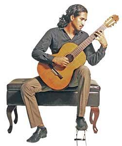 Concierto de guitarra en el Museo de Antropología