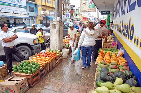 Sin proyecto de reubicación para el comercio informal
