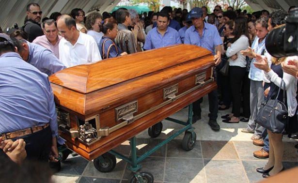 Juan Carlos Huerta; el último adiós