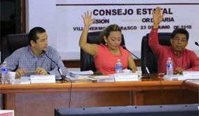 Aprueba IEPCT sanciones a candidato de edil de Huimanguillo