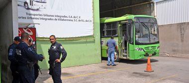 Roban $400 mil a Transbus