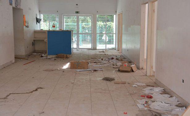 En abandono Centro de Salud de la Ranchería Emiliano Zapata