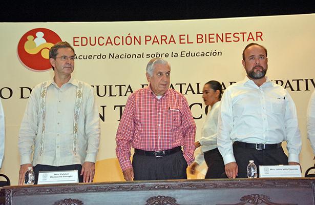 Buscan construir nuevo programa educativo