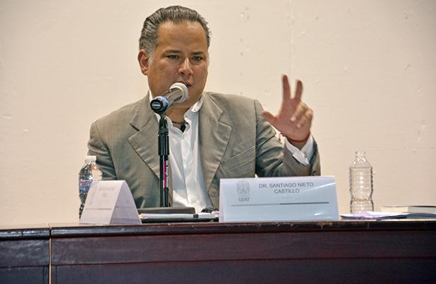 Necesario reformar Sistema Nacional Anticorrupción: Santiago Nieto
