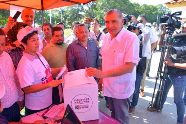 Solicitaría Adán Augusto empréstito de 6 mil 800 mdp para el sector agropecuario