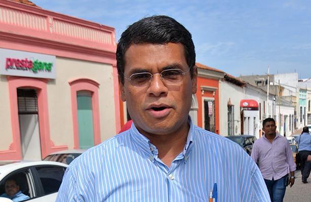 Jesús Selván García, alcalde de Jalpa de Méndez.
