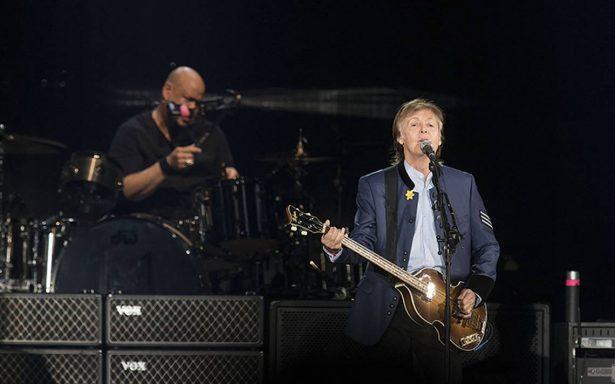 Gran concierto de Paul McCartney que ofreció en el Estadio Azteca