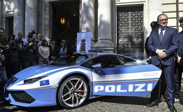 Policía italiana combatirá el crimen ¡a bordo de Lamborghinis Huracan!