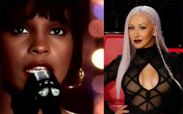 A 25 años de 'El guardaespaldas', Christina Aguilera recordará a Whitney Houston
