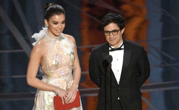 """""""Estoy en contra de cualquier muro"""", dice Gael García en el Oscar"""