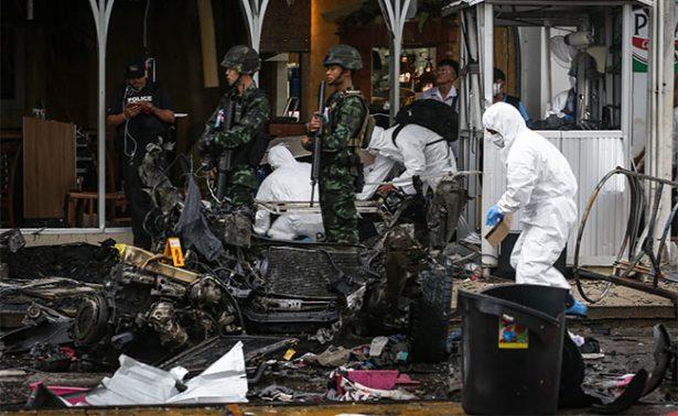 Al menos 58 heridos al estallar dos bombas en el sur del Tailandia
