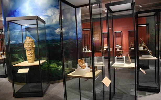 Inauguran la exposición Mixtecos ÑuuDzahui en la Galería de Palacio Nacional