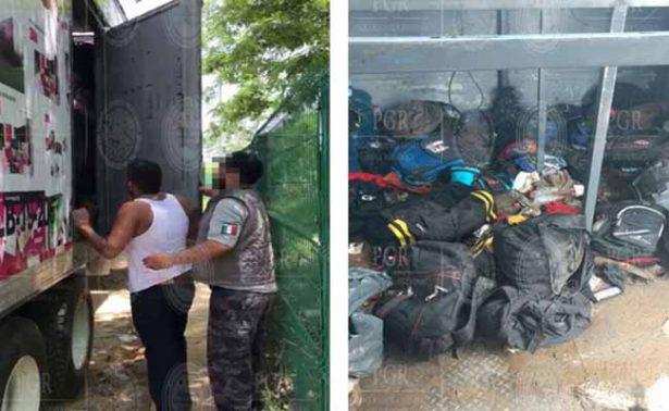 PGR rescata a 112 extranjeros en Tabasco