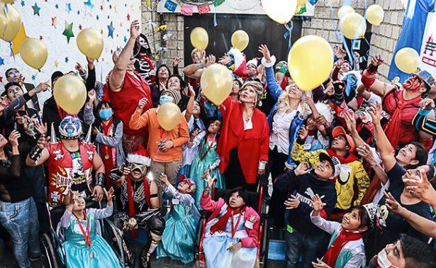 AAA organizó su posada  junto a la Fundación  La Magia de un Deseo