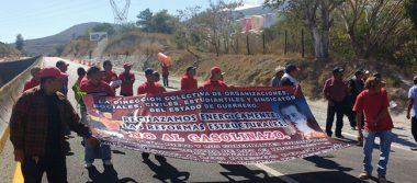 Colonias populares marchan contra gasolinazo en Iguala