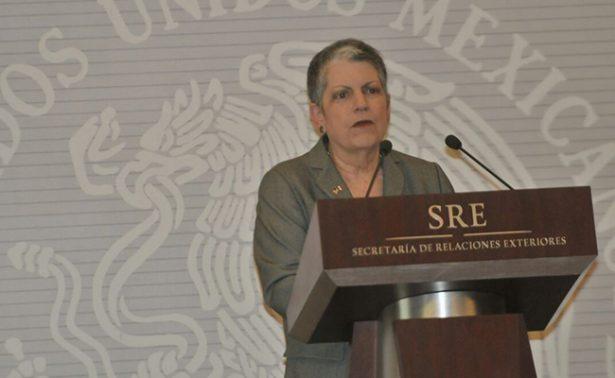 TLCAN no afectará alianzas con universidades mexicanas: Janet Napolitano