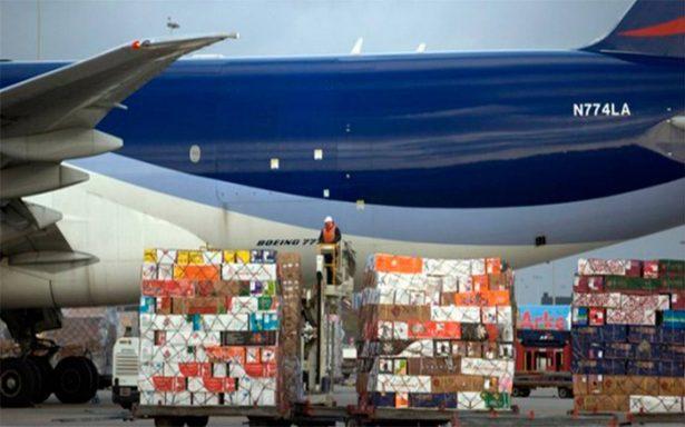 Vuela la carga aérea; sube un 12.1% en agosto a nivel mundial