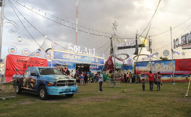 Aparece en circo de Puebla niña desaparecida de Guanajuato
