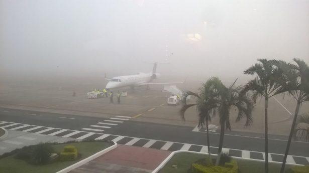 Niebla afecta operación del Aeropuerto de SLP y Tampico