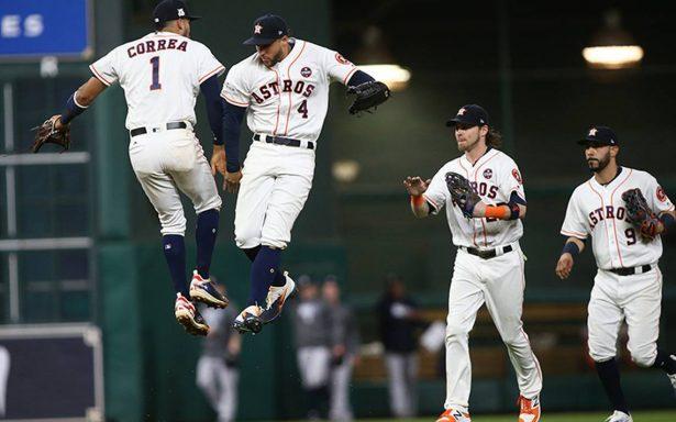 Los Astros de Houston, con la moral muy en alto