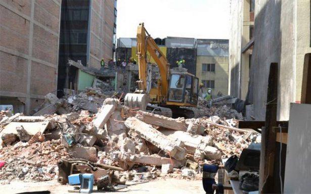 Condonarán pago de agua y predial a damnificados de sismos