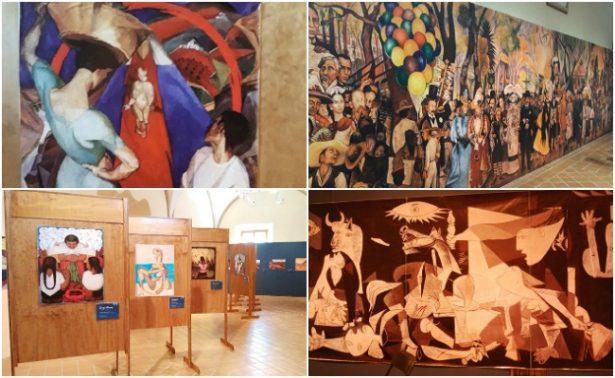 Dedican exposición a Pablo Picasso y Diego Rivera en Veracruz