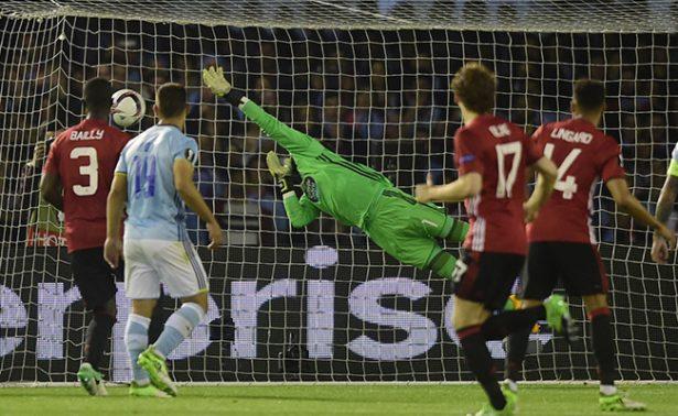 El Celta perdio en casa ante el Manchester United